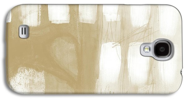 Camel Galaxy S4 Case - Sand And Stone 4- Contemporary Abstract Art By Linda Woods by Linda Woods
