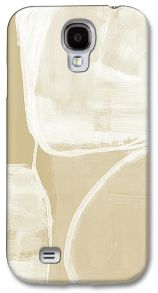 Camel Galaxy S4 Case - Sand And Stone 5- Contemporary Abstract Art By Linda Woods by Linda Woods
