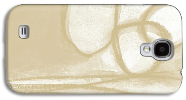 Camel Galaxy S4 Case - Sand And Stone 6- Contemporary Abstract Art By Linda Woods by Linda Woods