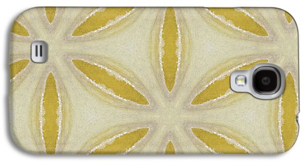 Sand Dollar- Art By Linda Woods Galaxy S4 Case by Linda Woods