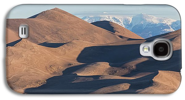 Sand Dunes And Rocky Mountains Panorama Galaxy S4 Case by James BO Insogna