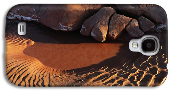 Sand Puddle Galaxy S4 Case by Jerry LoFaro