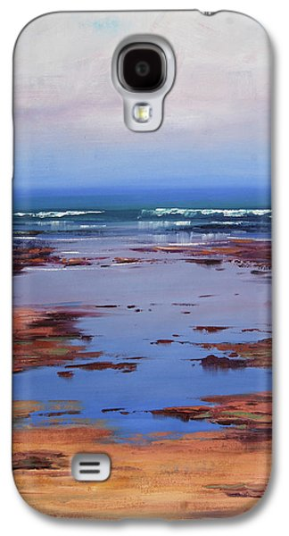 Beach Landscape Galaxy S4 Case - Sand Sea And Sky by Graham Gercken