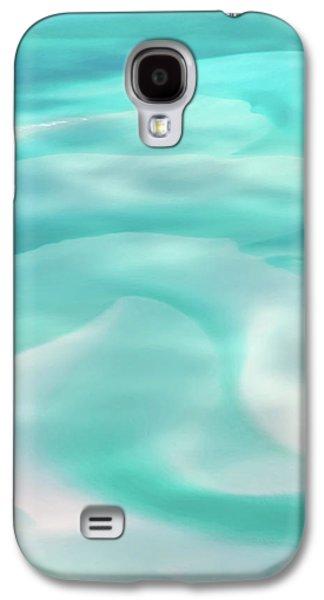 Amazing Sunset Galaxy S4 Case - Sand Swirls by Az Jackson