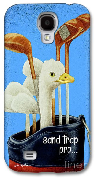Ostrich Galaxy S4 Case - Sand Trap Pro ... Phone Cover by Will Bullas