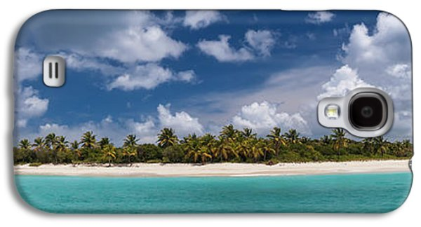Sandy Cay Beach British Virgin Islands Panoramic Galaxy S4 Case