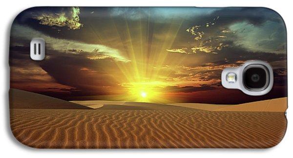 Sandy Desert Galaxy S4 Case