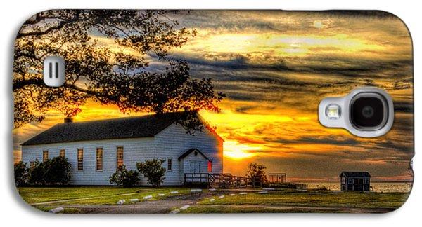 Sandy Hook New Jersey Sunset Galaxy S4 Case by Geraldine Scull