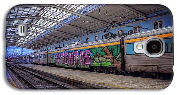 Santa Apolonia Train Station Lisbon Galaxy S4 Case