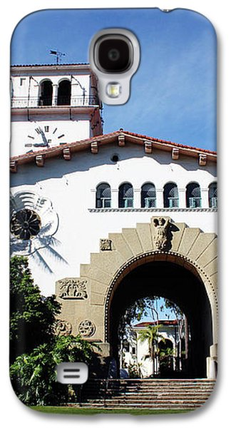 Santa Barbara Courthouse -by Linda Woods Galaxy S4 Case