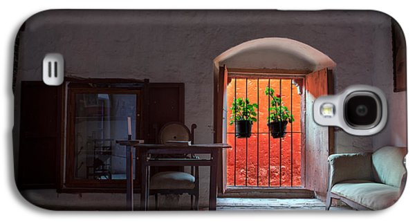 Santa Catalina Monastery Window Galaxy S4 Case by Jess Kraft