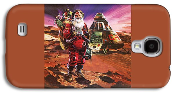 Santa Claus On Mars Galaxy S4 Case by English School
