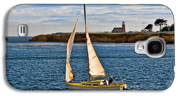 Santa Cruz Mark Abbott Memorial Lighthouse Ca  Galaxy S4 Case by Christine Till