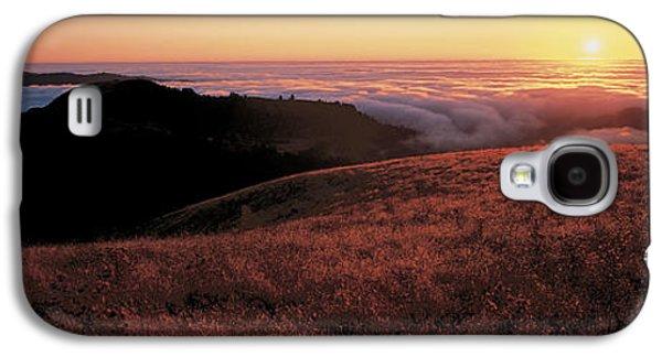 Santa Cruz Mountains At Sunset Ca Usa Galaxy S4 Case by Panoramic Images