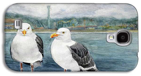Santa Cruz Wharf Galaxy S4 Case by Susy Soulies