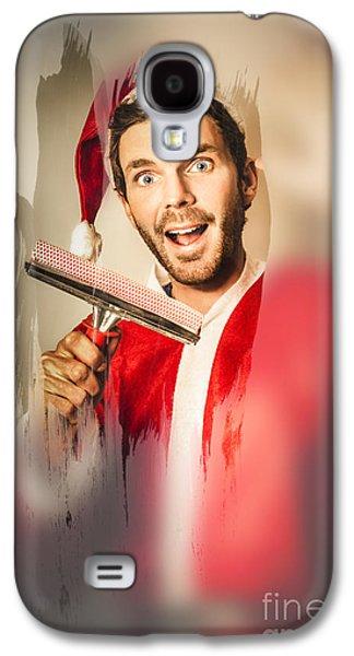 Santa Elf Preparing For Christmas Galaxy S4 Case by Jorgo Photography - Wall Art Gallery