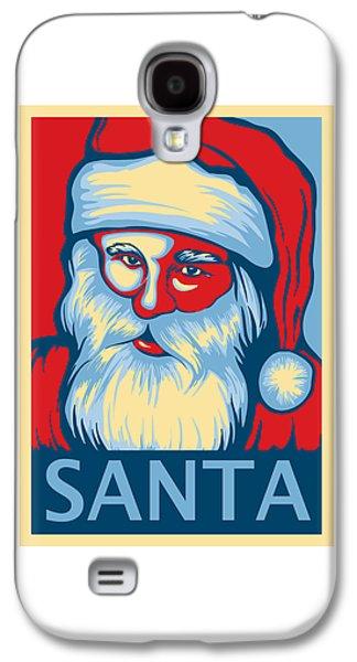 Santa Hope Galaxy S4 Case by David Kyte