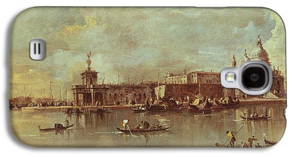Santa Maria Della Salute Seen From The Mouth Of The Grand Canal Galaxy S4 Case by Francesco Guardi