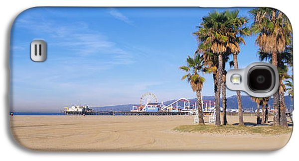 Santa Monica Beach Ca Galaxy S4 Case by Panoramic Images