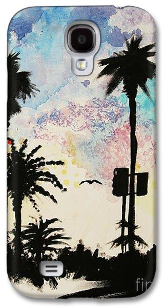 Santa Monica Pier - Center Two Of Three Galaxy S4 Case