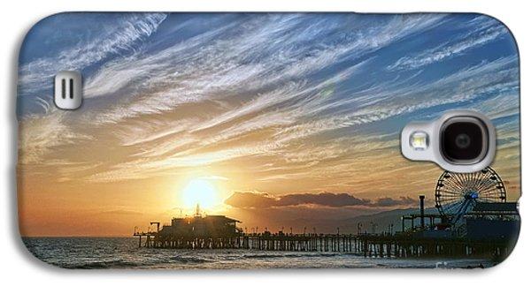 Santa Monica Pier Galaxy S4 Case