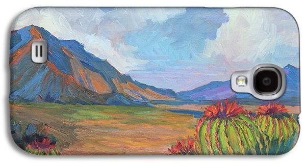 Santa Rosa Mountains And Barrel Cactus Galaxy S4 Case