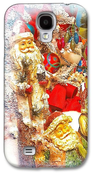 Santa Scene 1 Galaxy S4 Case