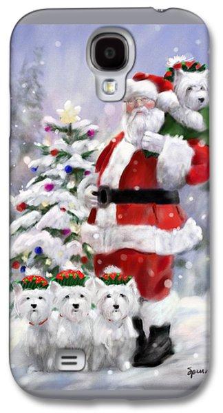 Elf Galaxy S4 Case - Santa's Helpers by Mary Sparrow