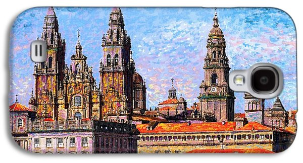 Santiago De Compostela, Cathedral, Spain Galaxy S4 Case by Jane Small