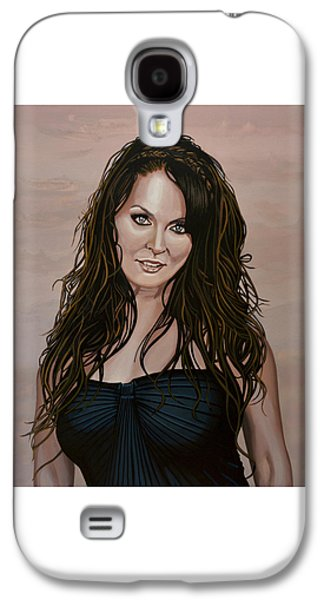 Sarah Brightman Galaxy S4 Case by Paul Meijering