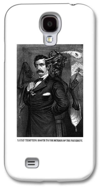 Satan Tempting John Wilkes Booth Galaxy S4 Case