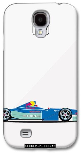 Sauber Petronas C20 F1 Poster Galaxy S4 Case