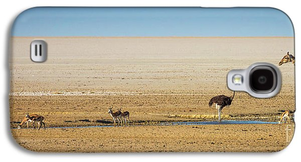 Savanna Life Galaxy S4 Case by Inge Johnsson