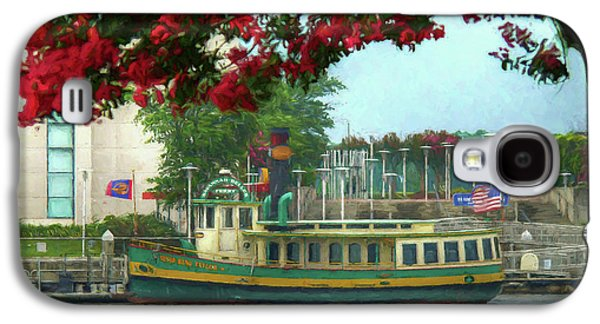 Savannah Belles Ferry - The Susie King Taylor Galaxy S4 Case by John Adams