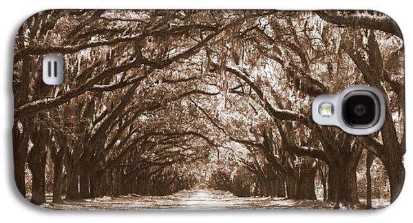 Savannah Sepia - Glorious Oaks Galaxy S4 Case