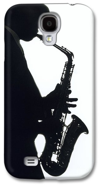 Saxophone Galaxy S4 Case - Sax 2 by Tony Cordoza