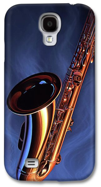 Saxophone Galaxy S4 Case - Sax Appeal by Jerry LoFaro