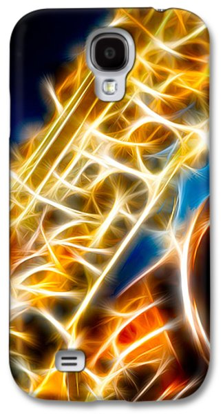 Saxophone 2 Galaxy S4 Case by Hakon Soreide