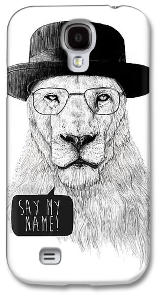 Say My Name Galaxy S4 Case by Balazs Solti