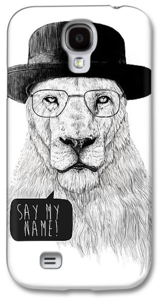 Lion Galaxy S4 Case - Say My Name by Balazs Solti