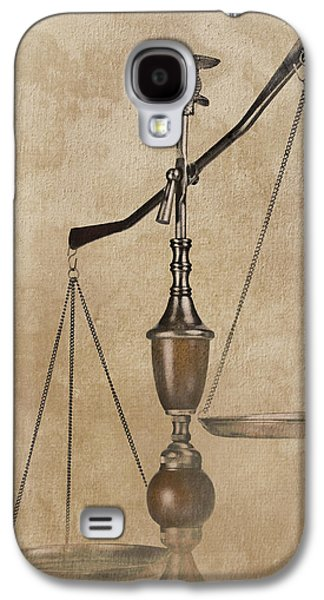 Scales Of Justice Galaxy S4 Case by Tom Mc Nemar
