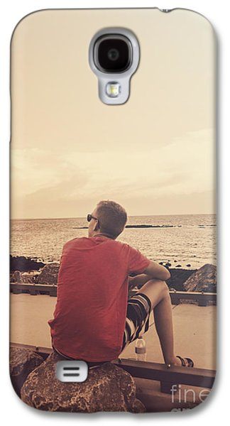 Scarborough Jetty Sunset Galaxy S4 Case by Jorgo Photography - Wall Art Gallery