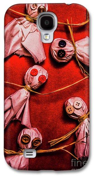 Scary Halloween Lollipop Ghosts Galaxy S4 Case by Jorgo Photography - Wall Art Gallery