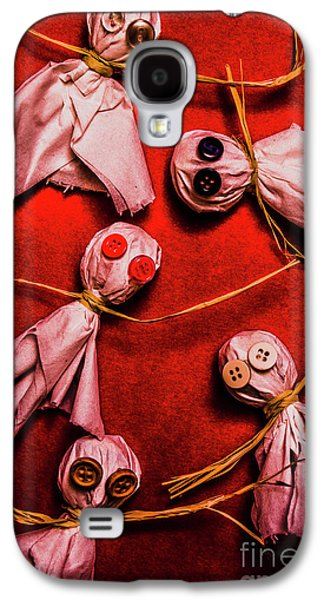Scary Halloween Lollipop Ghosts Galaxy S4 Case