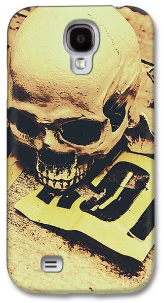 Scary Human Skull Galaxy S4 Case