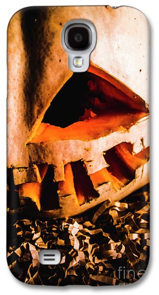 Scary Jack O Lantern. Halloween Faces Galaxy S4 Case