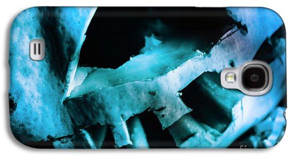 Scary Jack-o-lantern Pumpkin Detail Galaxy S4 Case by Jorgo Photography - Wall Art Gallery