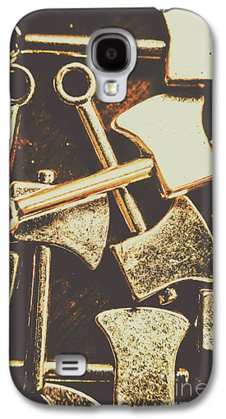Scattering Axes Galaxy S4 Case