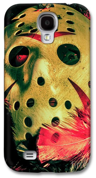 Scene From A Fright Night Slasher Flick Galaxy S4 Case