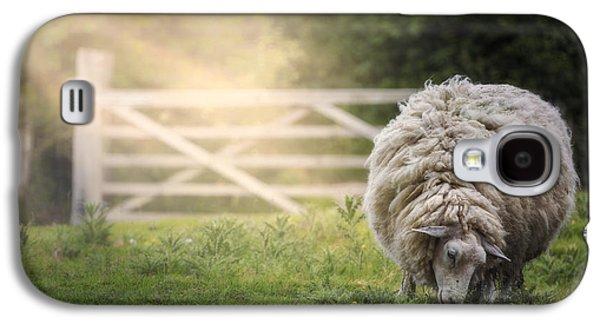 Sheep Galaxy S4 Case by Joana Kruse